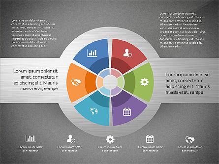 Round Diagram, Slide 9, 03134, Business Models — PoweredTemplate.com
