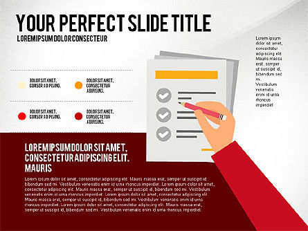 Presentation Templates: Illustrative Presentation with Data Driven Charts #03135