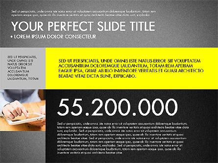 Company Profile Slide Deck, Slide 10, 03138, Presentation Templates — PoweredTemplate.com