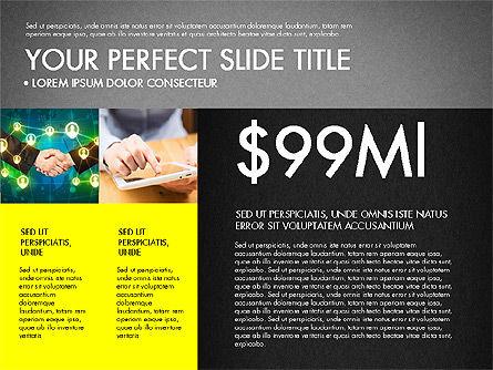 Company Profile Slide Deck, Slide 11, 03138, Presentation Templates — PoweredTemplate.com