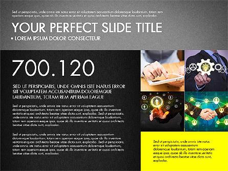Company Profile Slide Deck, Slide 14, 03138, Presentation Templates — PoweredTemplate.com