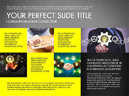 Company Profile Slide Deck, Slide 16, 03138, Presentation Templates — PoweredTemplate.com