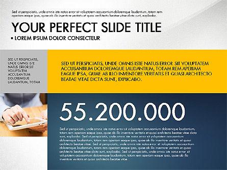 Company Profile Slide Deck, Slide 2, 03138, Presentation Templates — PoweredTemplate.com