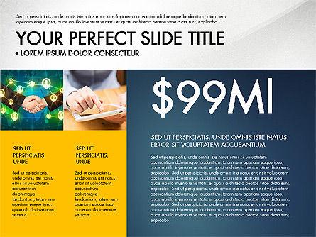 Company Profile Slide Deck, Slide 3, 03138, Presentation Templates — PoweredTemplate.com