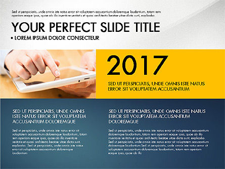 Company Profile Slide Deck, Slide 5, 03138, Presentation Templates — PoweredTemplate.com