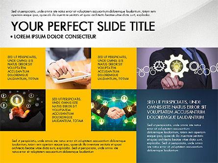 Company Profile Slide Deck, Slide 8, 03138, Presentation Templates — PoweredTemplate.com