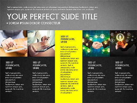 Company Profile Slide Deck, Slide 9, 03138, Presentation Templates — PoweredTemplate.com