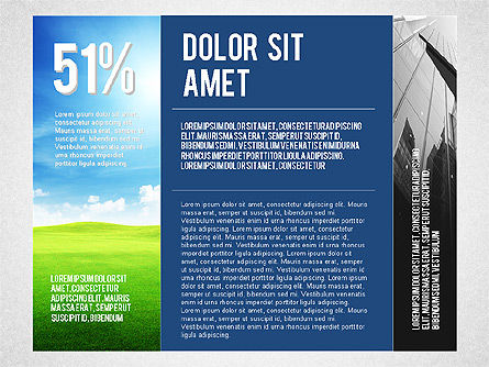 Consulting Company Profile Illustration, Slide 2, 03140, Presentation Templates — PoweredTemplate.com