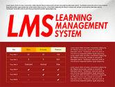 Business Models: LMSプレゼンテーションテンプレート #03141