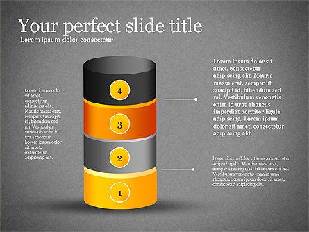 Presentation with Compound Objects, Slide 10, 03142, Shapes — PoweredTemplate.com