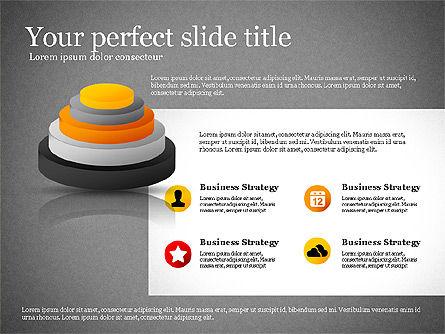 Presentation with Compound Objects, Slide 11, 03142, Shapes — PoweredTemplate.com