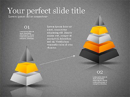Presentation with Compound Objects, Slide 13, 03142, Shapes — PoweredTemplate.com