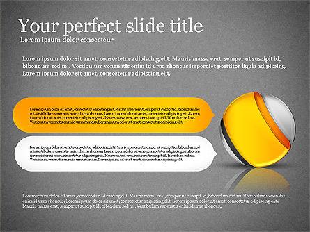 Presentation with Compound Objects, Slide 15, 03142, Shapes — PoweredTemplate.com