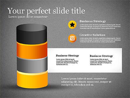 Presentation with Compound Objects, Slide 16, 03142, Shapes — PoweredTemplate.com