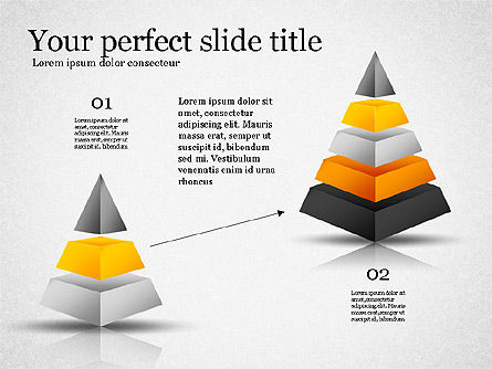 Presentation with Compound Objects, Slide 5, 03142, Shapes — PoweredTemplate.com