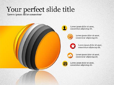 Presentation with Compound Objects, Slide 6, 03142, Shapes — PoweredTemplate.com