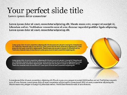Presentation with Compound Objects, Slide 7, 03142, Shapes — PoweredTemplate.com