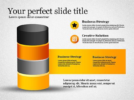 Presentation with Compound Objects, Slide 8, 03142, Shapes — PoweredTemplate.com