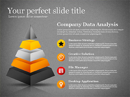 Presentation with Compound Objects, Slide 9, 03142, Shapes — PoweredTemplate.com
