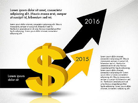 Dollar Infographics, 03145, Infographics — PoweredTemplate.com