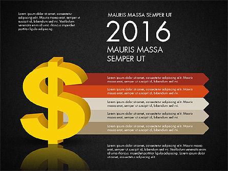 Dollar Infographics, Slide 10, 03145, Infographics — PoweredTemplate.com