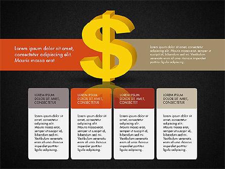 Dollar Infographics, Slide 12, 03145, Infographics — PoweredTemplate.com