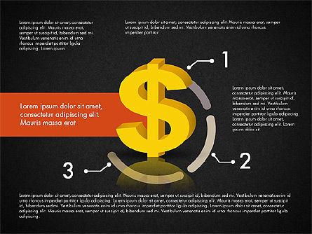 Dollar Infographics, Slide 13, 03145, Infographics — PoweredTemplate.com