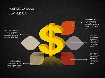 Dollar Infographics, Slide 15, 03145, Infographics — PoweredTemplate.com