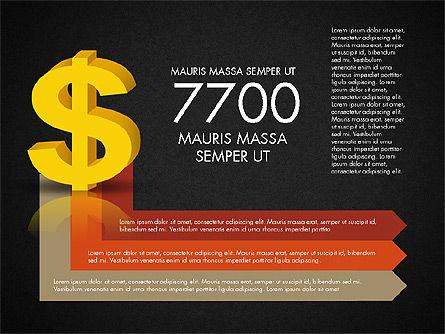 Dollar Infographics, Slide 16, 03145, Infographics — PoweredTemplate.com