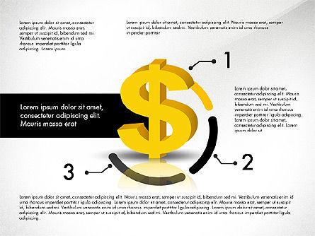 Dollar Infographics, Slide 5, 03145, Infographics — PoweredTemplate.com