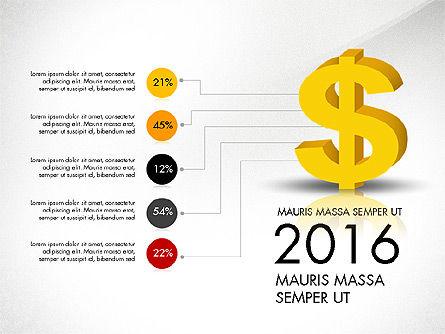 Dollar Infographics, Slide 6, 03145, Infographics — PoweredTemplate.com