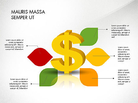 Dollar Infographics, Slide 7, 03145, Infographics — PoweredTemplate.com