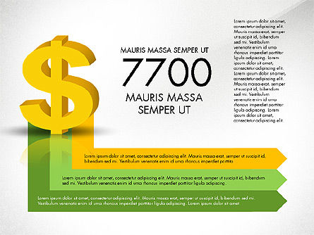 Dollar Infographics, Slide 8, 03145, Infographics — PoweredTemplate.com