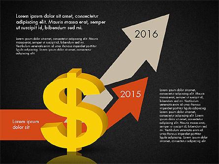 Dollar Infographics, Slide 9, 03145, Infographics — PoweredTemplate.com