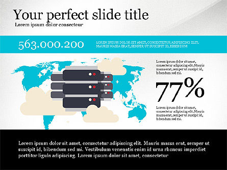 Data Distribution and Protection Presentation Template, Slide 4, 03146, Presentation Templates — PoweredTemplate.com