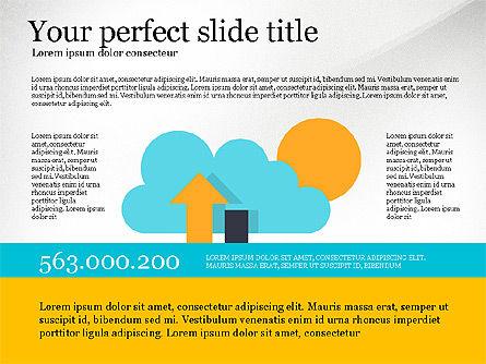 Data Distribution and Protection Presentation Template, Slide 7, 03146, Presentation Templates — PoweredTemplate.com