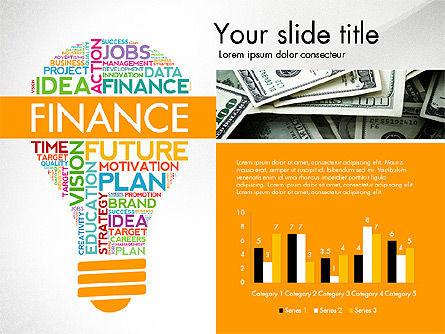 Word Cloud Data Driven Presentation Template Slide 2