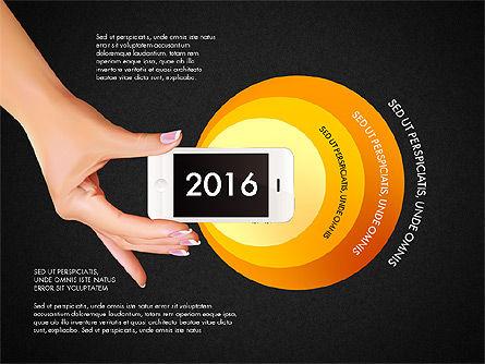 Smartphone Options Presentation Concept, Slide 10, 03148, Stage Diagrams — PoweredTemplate.com