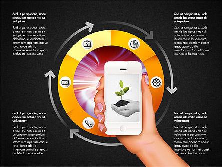 Smartphone Options Presentation Concept, Slide 11, 03148, Stage Diagrams — PoweredTemplate.com