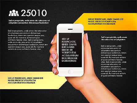 Smartphone Options Presentation Concept, Slide 12, 03148, Stage Diagrams — PoweredTemplate.com