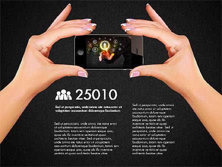 Smartphone Options Presentation Concept, Slide 13, 03148, Stage Diagrams — PoweredTemplate.com