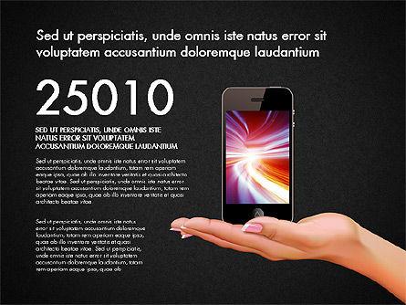 Smartphone Options Presentation Concept, Slide 16, 03148, Stage Diagrams — PoweredTemplate.com