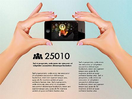 Smartphone Options Presentation Concept, Slide 5, 03148, Stage Diagrams — PoweredTemplate.com