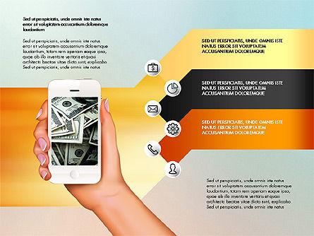 Smartphone Options Presentation Concept, Slide 6, 03148, Stage Diagrams — PoweredTemplate.com