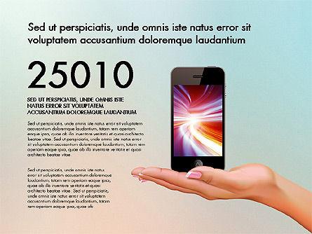 Smartphone Options Presentation Concept, Slide 8, 03148, Stage Diagrams — PoweredTemplate.com