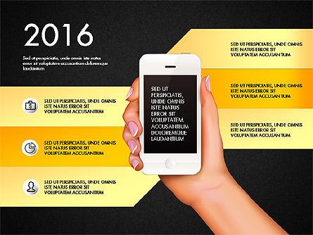 Smartphone Options Presentation Concept, Slide 9, 03148, Stage Diagrams — PoweredTemplate.com