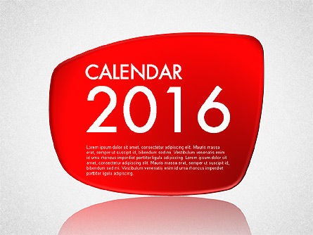 Calendar 2016, 03150, Timelines & Calendars — PoweredTemplate.com