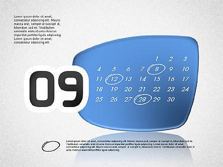 Calendar 2016, Slide 10, 03150, Timelines & Calendars — PoweredTemplate.com