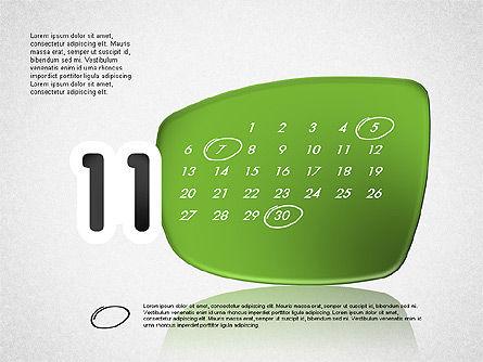 Calendar 2016, Slide 12, 03150, Timelines & Calendars — PoweredTemplate.com