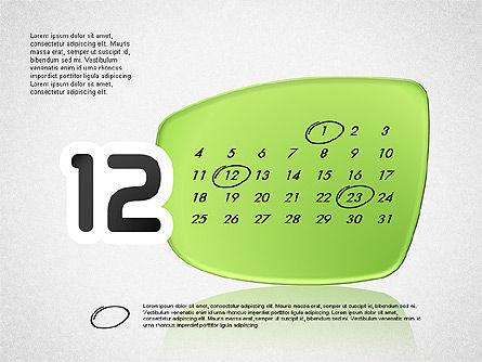 Calendar 2016, Slide 13, 03150, Timelines & Calendars — PoweredTemplate.com